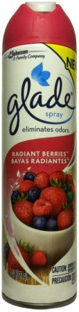GLADE SPRAY RADIANT BERRIES
