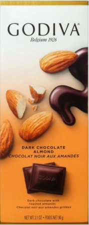 GODIVA DARK CHOCOLATE ALMOND