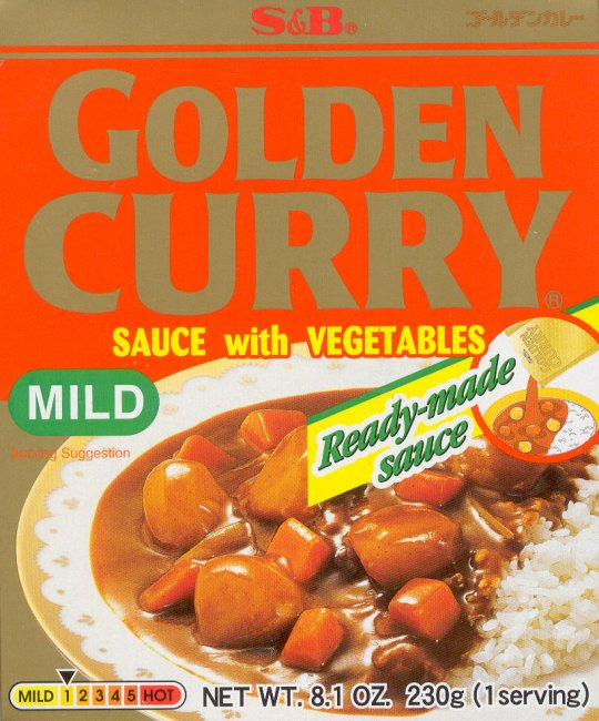 GOLDEN CURRY SAUCE WITH VEGETABLES MILD