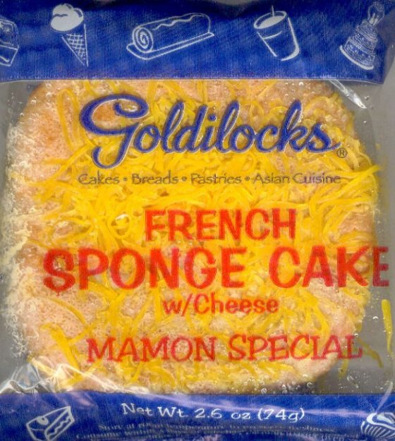 GOLDILOCKS MAMON SPECIAL FRENCH SPONG CAKE w/ CHEESE