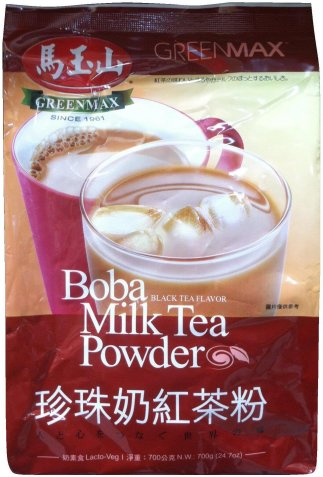 GREENMAX BOBA MILK TEA POWDER BLACK TEA FLAVOR