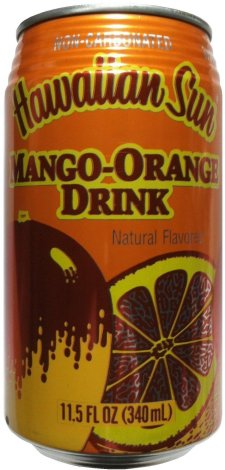HAWAIIAN SUN MANGO-ORANGE DRINK