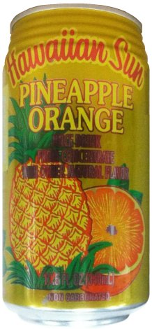 HAWAIIAN SUN PINEAPPLE-ORANGE DRINK
