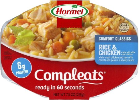 HORMEL COMPLEATS RICE & CHICKEN