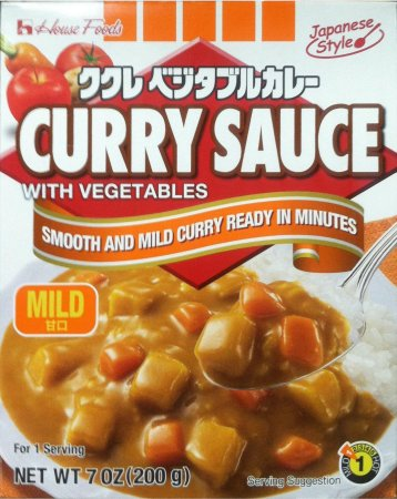 HOUSE FOODS JAPANESE STYLE CURRY SAUCE W/ VEGETABLES MILD