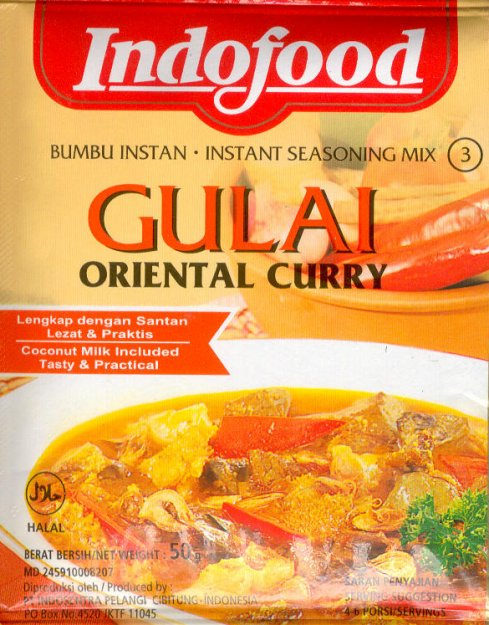 INDOFOOD GULAI ORIENTAL CURRY