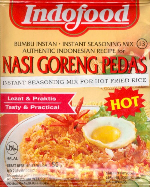 INDOFOOD NASI GORENG PEDAS HOT FRIED RICE