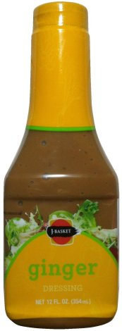 J-BASKET GINGER DRESSING