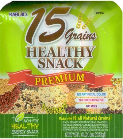 15 GRAINS HEALTHY SNACK