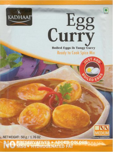 KADHAAI EGG CURRY BOILED EGGS IN TANGY CURRY