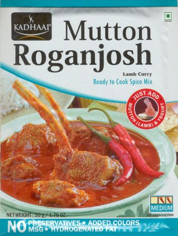 KADHAAI MUTTON ROGANJOSH LAMB CURRY