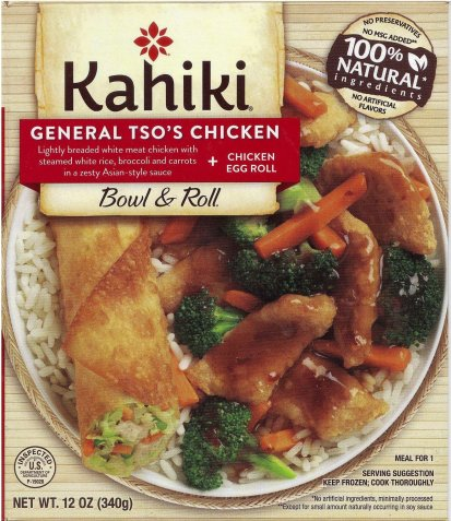 KAHIKI GENERAL TSO'S CHICKEN+ CHICKEN EGG ROLL