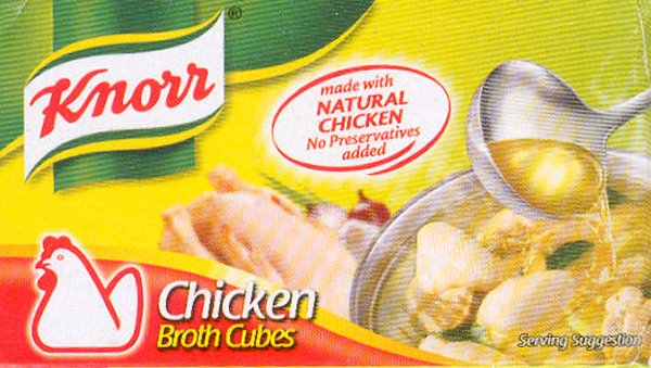 KNORR BOUILLON MIX CHICKEN BROTH CUBES