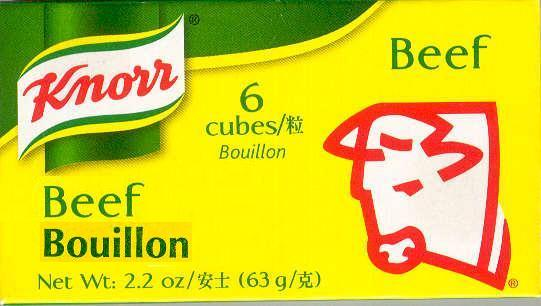 KNORR BOUILLON MIX BEEF FLAVOR
