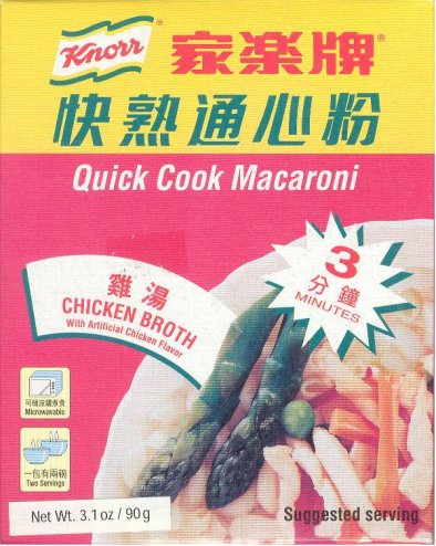KNORR QUICK COOK CHICKEN FLAVORED MACARONI