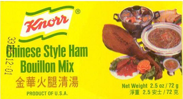 KNORR BOUILLON MIX CHINESE STYLE HAM