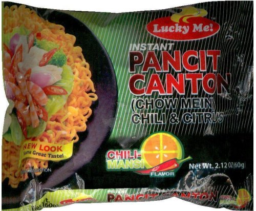 LUCKY ME PANCIT CANTON CHOW MEIN CHILI & CITRUS FLAVOR