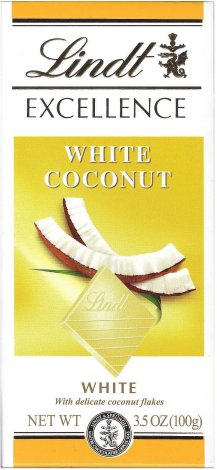 LINDT EXCELLENCE WHITE COCONUT