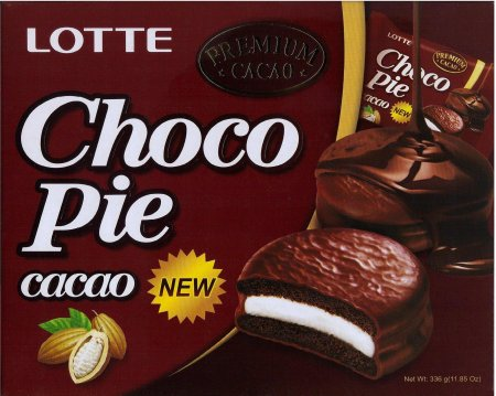 LOTTE CHOCO PIE CACAO