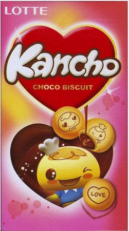 LOTTE KANCHO CHOCO BISCUTS