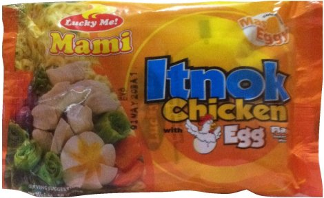 LUCKY ME INSTANT NOODLES MAMI ITNOK CHICKEN WITH EGG FLAVOR