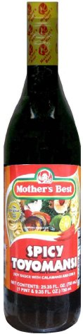 MOTHER'S BEST SPICY TOYOMANSI SOY SAUCE WITH CALAMANSI AND CHILI