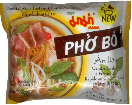 MAMA ORIENTAL STYLE CHAND NOODLES BEEF FLAVOR PHO BO