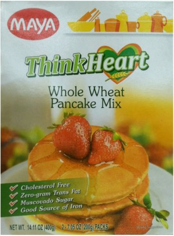 MAYA THINK HEART WHOLE WHEAT PANCAKE MIX