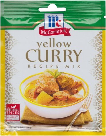 McCORMICK YELLOW CURRY RECIPE MIX