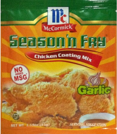 McCORMICK SEASON'N FRY CHICKEN COATING MIX GARLIC