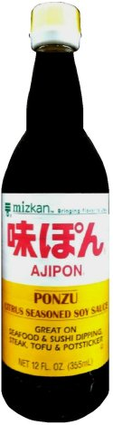 MIZKAN AJIPON PONZU CITRUS SEASONED SOY SAUCE