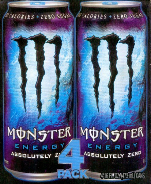 MONSTER ENERGY ABSOLUTELY ZERO