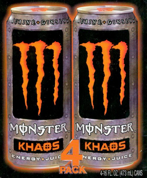 MONSTER ENERGY + JUICE KHAOS