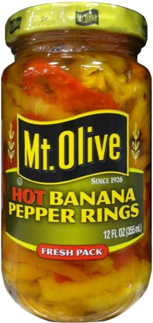 MT. OLIVE HOT BANANA PEPPER RINGS