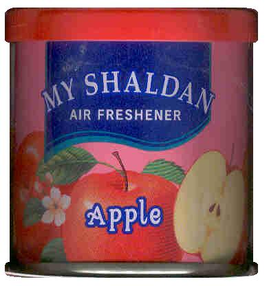 MY SHALDAN AIR FRESHENER APPLE