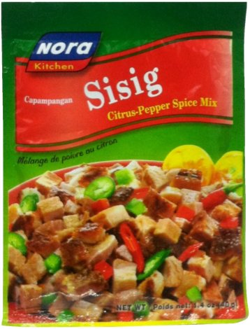 NORA SISIG CITRUS PEPPER SPICE MIX