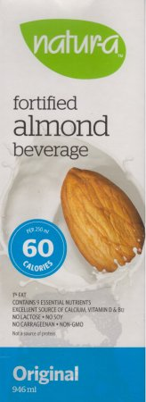 NATUR-A FORTIFIED ALMOND BEVERAGE ORIGINAL