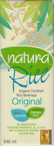 NATUR-A RICE ORGANIC FORTIFIED RICE BEVERAGE ORIGINAL