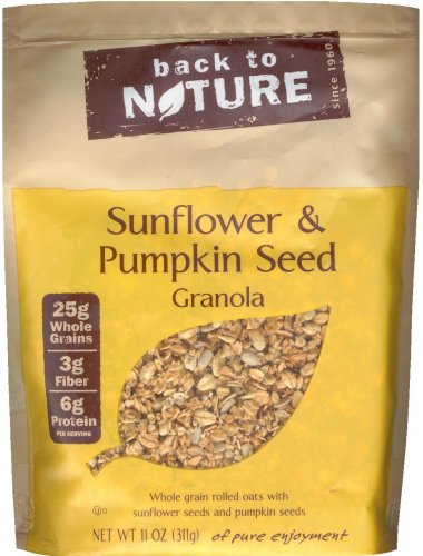 BACK TO NATURE SUNFLOWER & PUMPKIN SEED GRANOLA