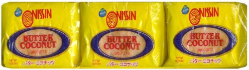 NISSIN BUTTER COCONUT BISCUITS