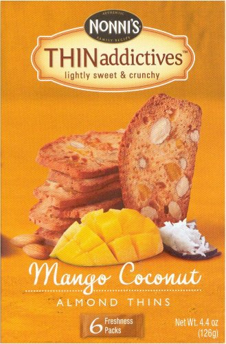 NONNI'S THINaddictives MANGO COCONUT ALMOND THINS