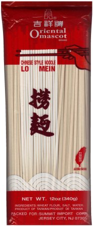 ORIENTAL MASCOT LO MEIN CHINESE STYLE NOODLE