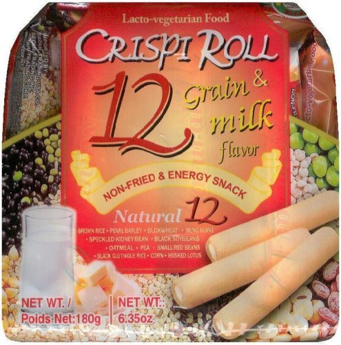 12 GRAIN CRISPI ROLL & MILK FLAVOR