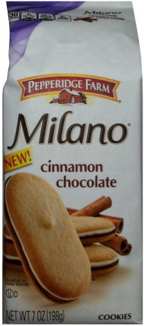 PEPPERIDGE FARM MILANO CINNAMON CHOCOLATE COOKIES
