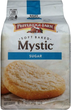 PEPPERIDGE FARM MSYTIC SUGAR COOKIES