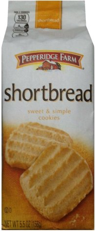 PEPPERIDGE FARM SHORTBREAD SWEET & SIMPLE COOKIES