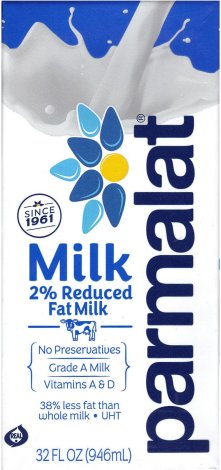 PARMALAT MILK 2% REDUCED FAT MILK