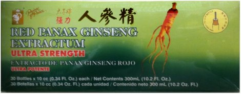 PRINCE OF PEACE RED PANAX GINSENG EXTRACTUM ULTRA STRENGTH