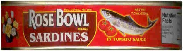 ROSE BOWL SARDINES IN TOMATO SAUCE HOT