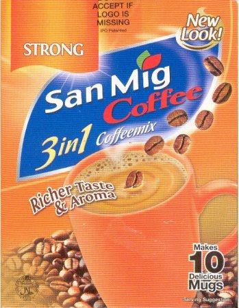 SAN MIG COFFEE STRONG 3 IN 1 COFFEEMIX
